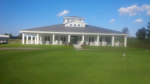 The wrap-around veranda at the North River Club is indicative of the welcoming atmosphere of the club.
