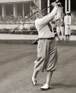 "Bobby Jones could pull off ""The Uniform"" gracefully; for me, one swing and I'd look like a vagabond."