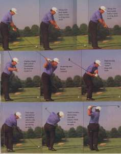 Lee Trevino was perhaps the most prolific player to utilize the no-wrist-release cut shot with much success.  So I guess the Merry-Mex is my golf spirit animal.