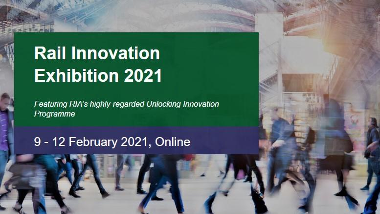 Rail Innovation Exhibition poster