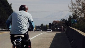 Bruce bikes to Seattle