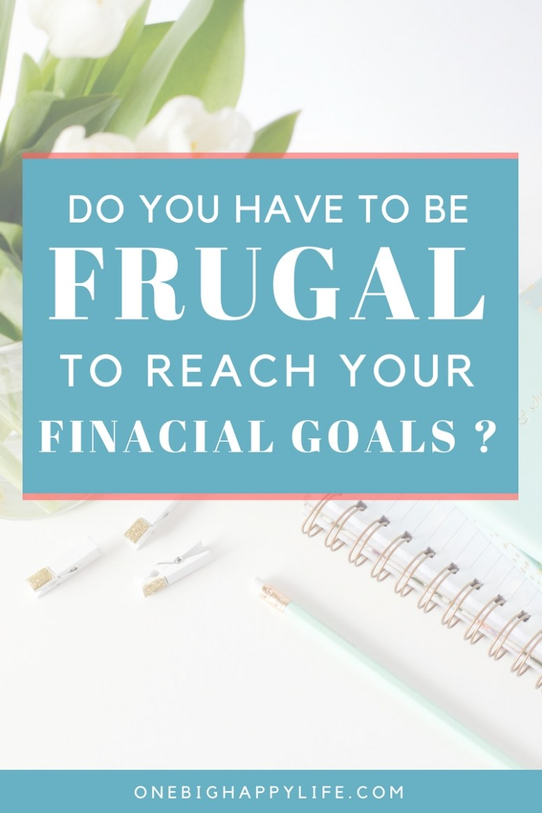 Is Frugality Necessary