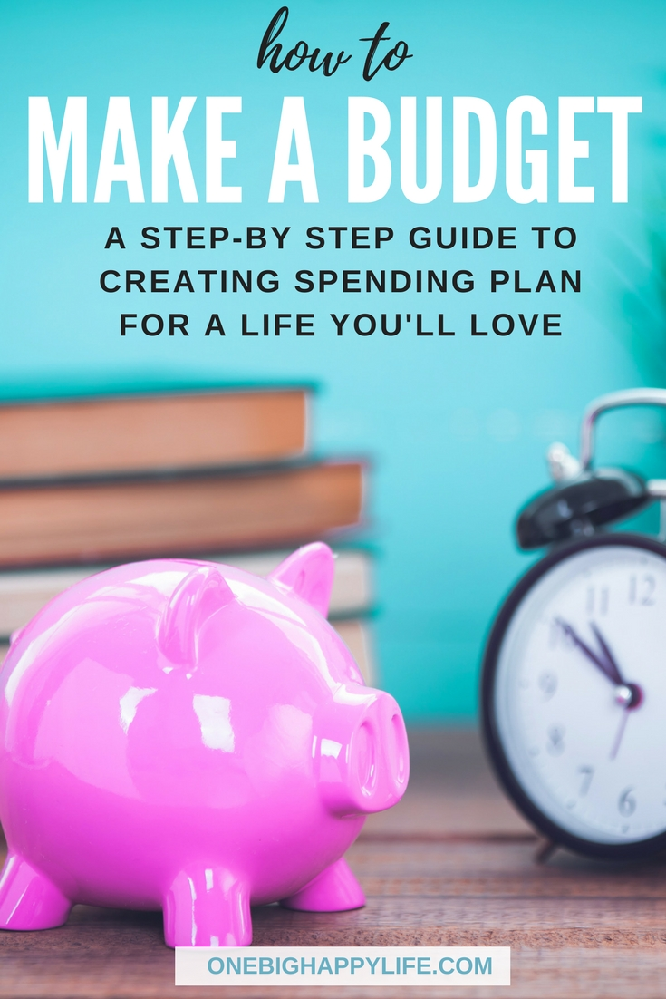 Learning how to make a budget is easy with this step by step guide. Create a family budget in no time with these simple budget techniques