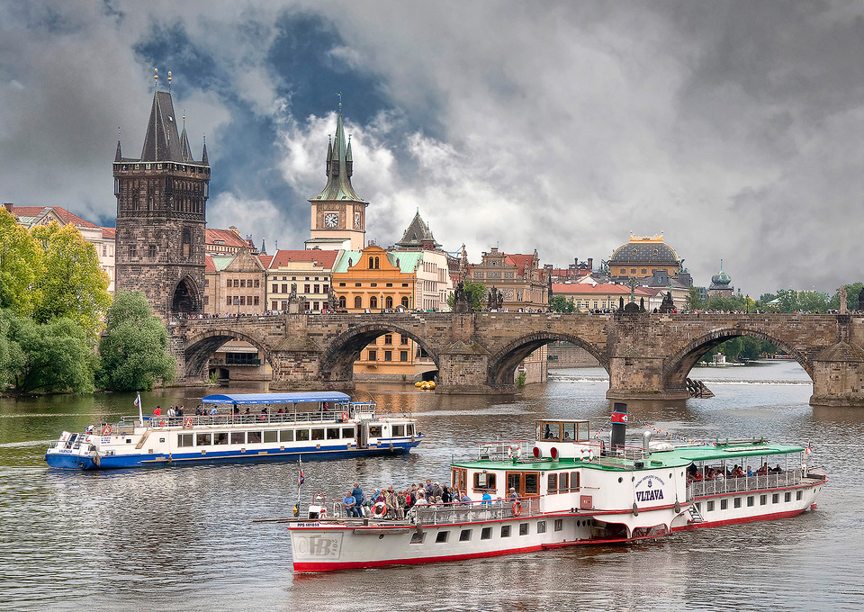 prague boat ride