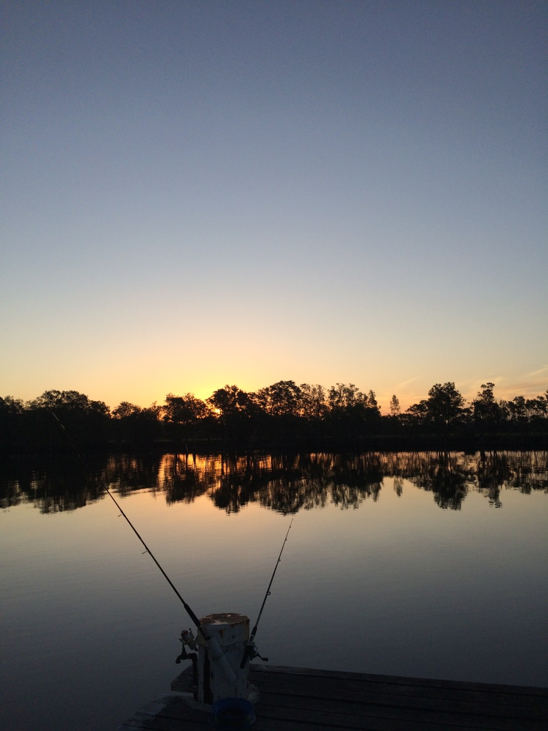 Fishing at Mitchells Island, Australia