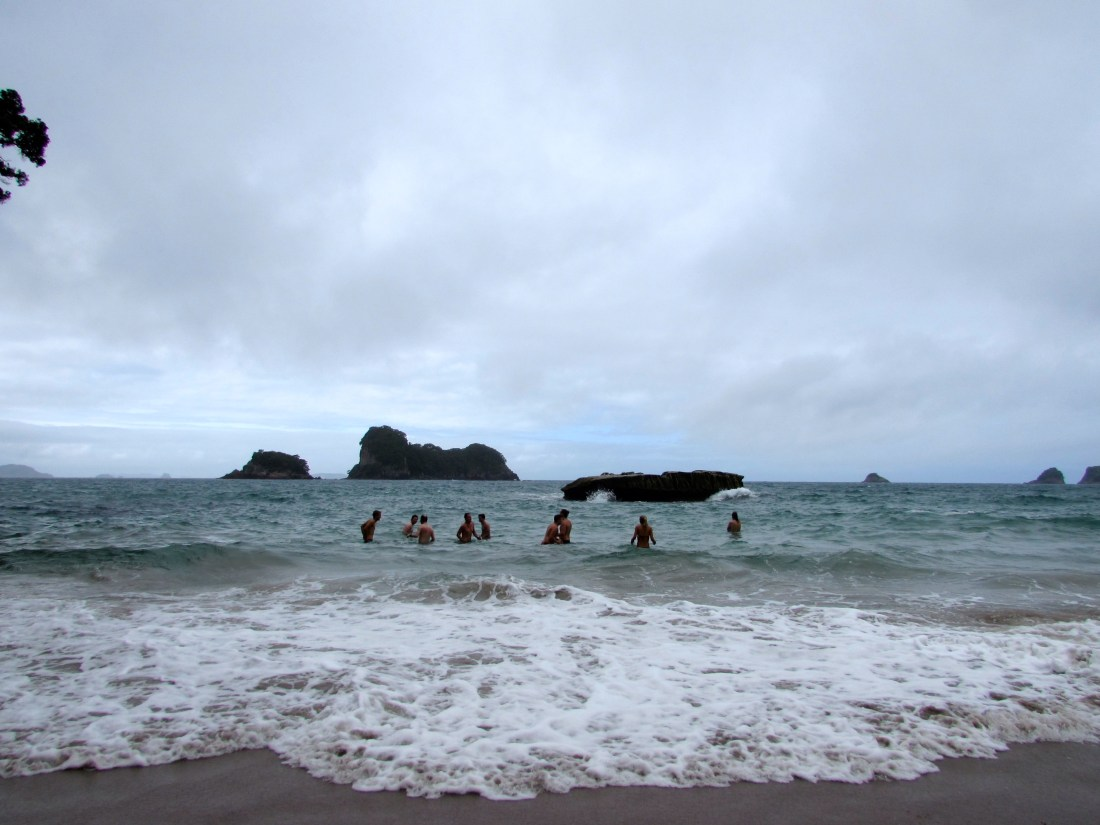 Ocean at Cathedral Cove, New Zealand