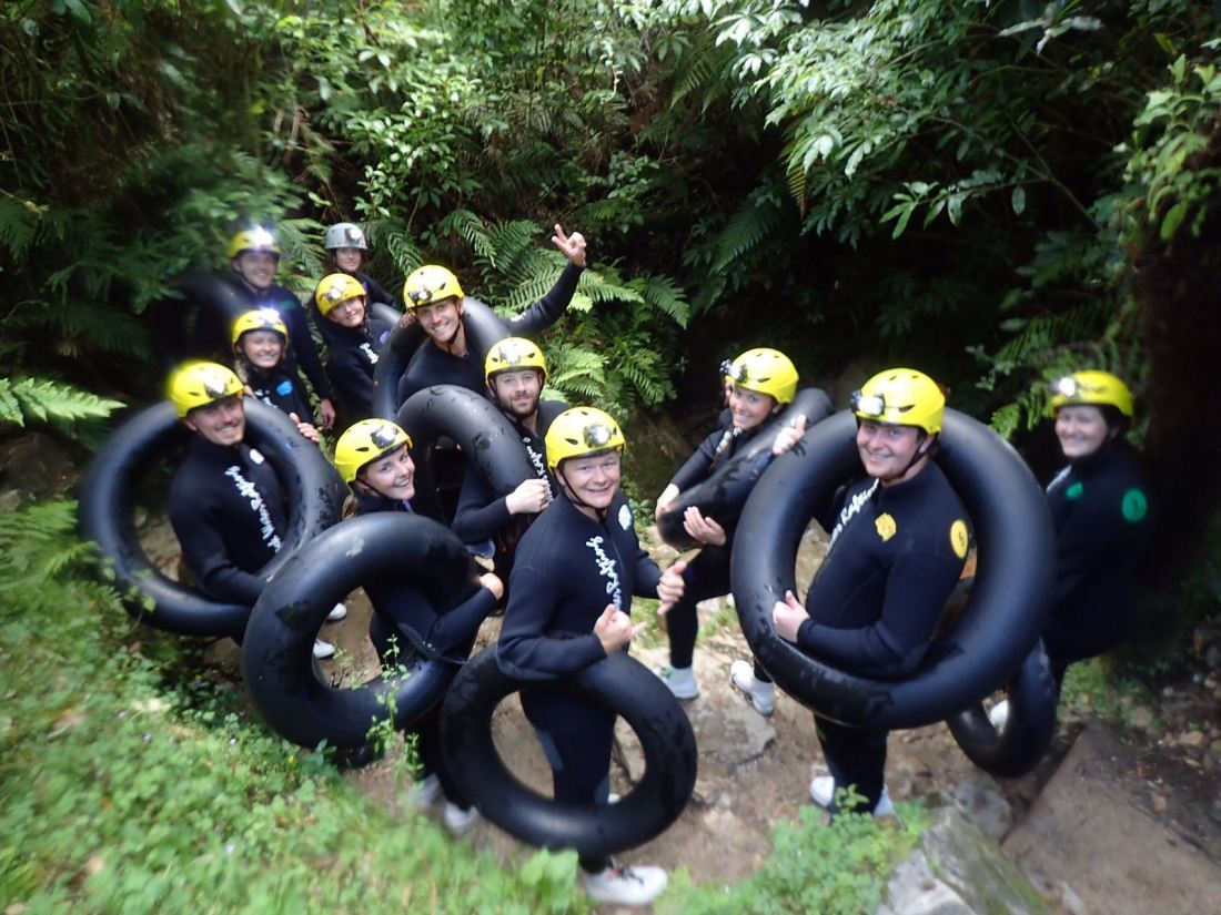 Black Labyrinth Caving Experience New Zealand
