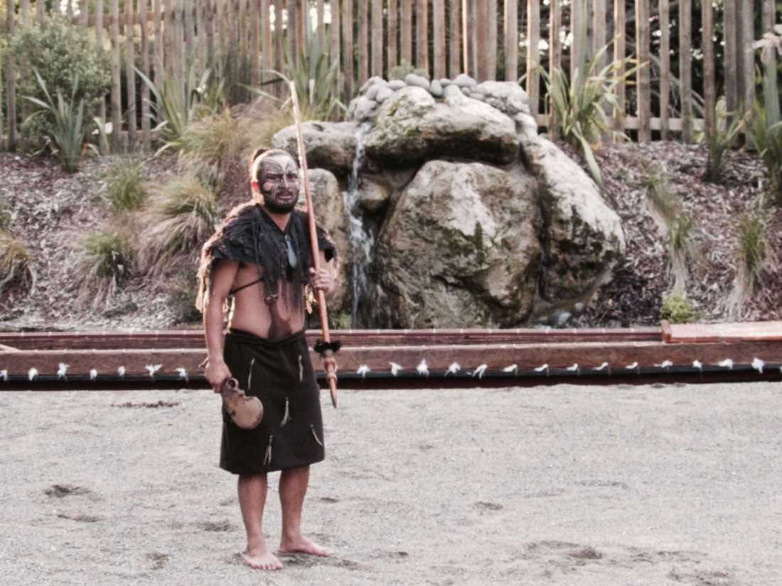 Tamaki Maori Village Chief