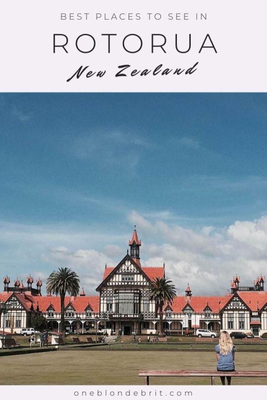 Best places Rotorua Pin