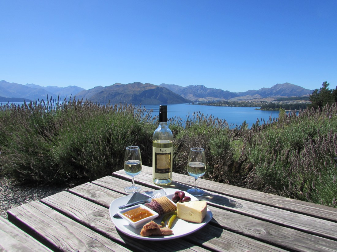 Rippon Winery Cheese Board, Wanaka