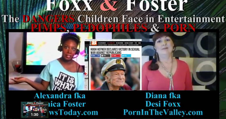 Foxx and Foster: The Dangers Children Face – Pimps, Pedophiles and Porn
