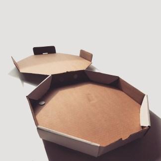 size twelve pizza box