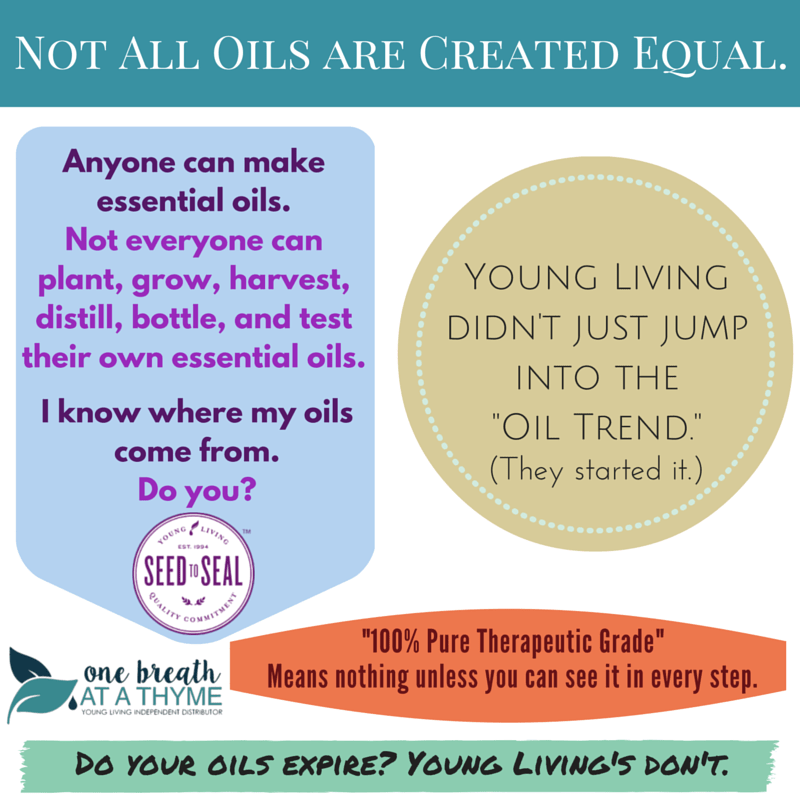 Not all oils are created equal