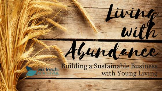 Living with Abundance Header