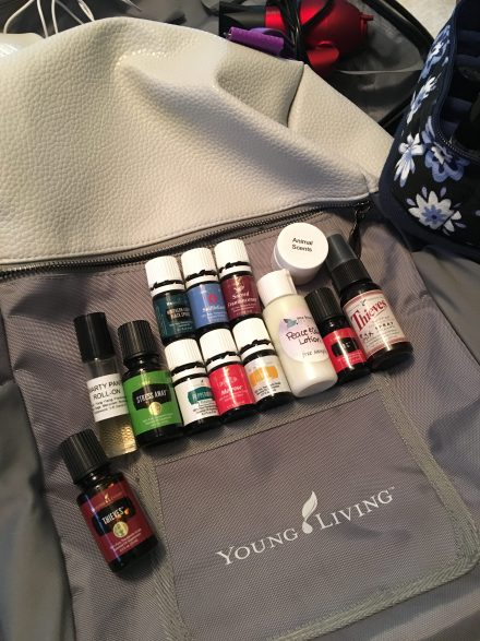 Oils while Traveling - One Breath at a Thyme