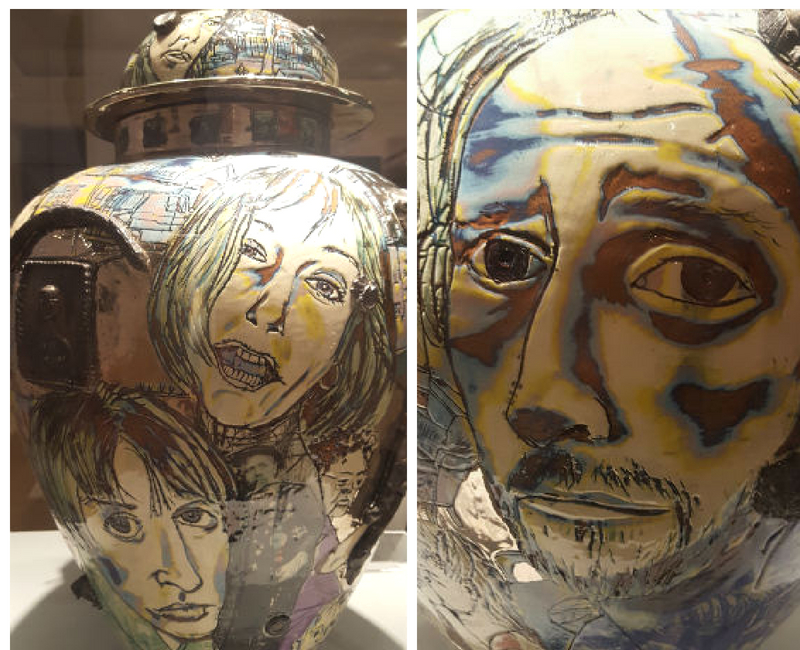 who am i vase