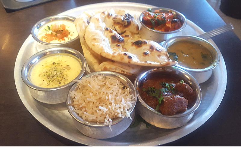 shahi thali dish selection