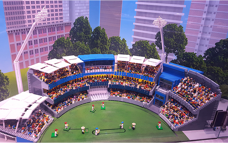 Lego Edgbaston Cricket Ground