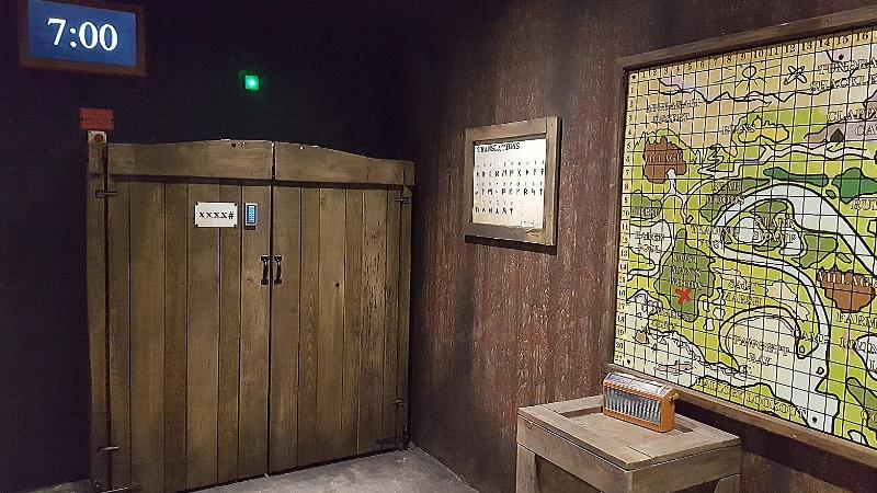 Bear Grylls Adventure Escape Room