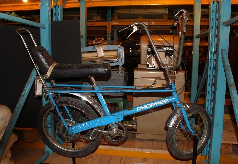 vintage scooter bike