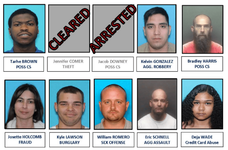 Burleson's Top 10 Most Wanted