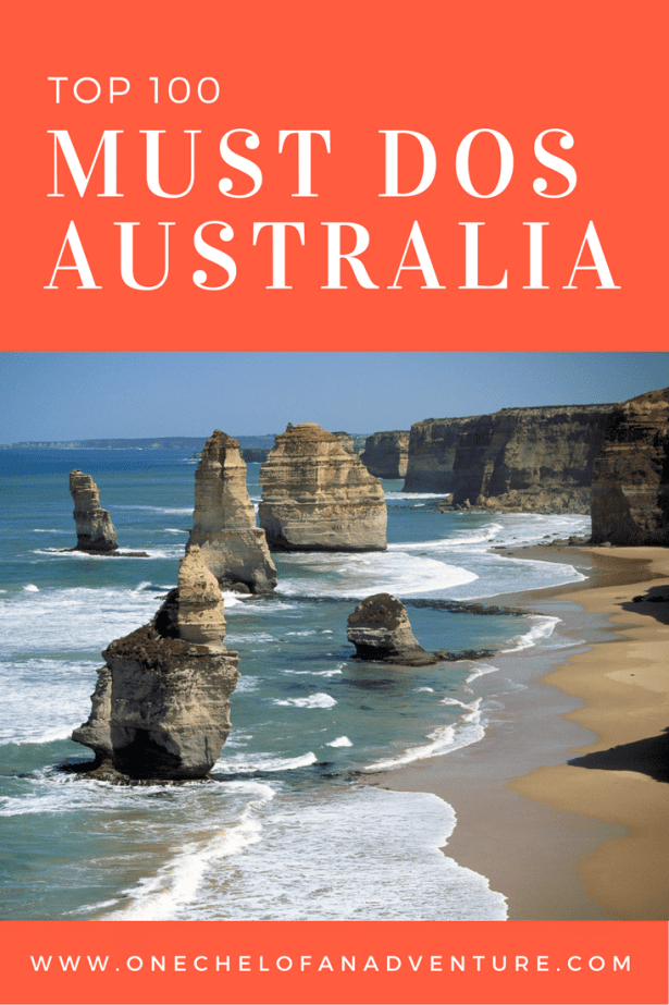 100+ MUST DOS IN AUSTRALIA