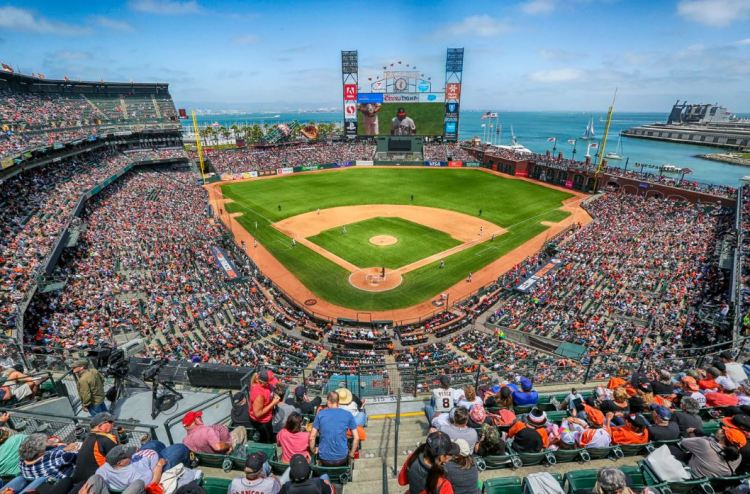 Trip to San Francisco see giants game