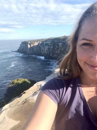 Cliff at Royal National Park