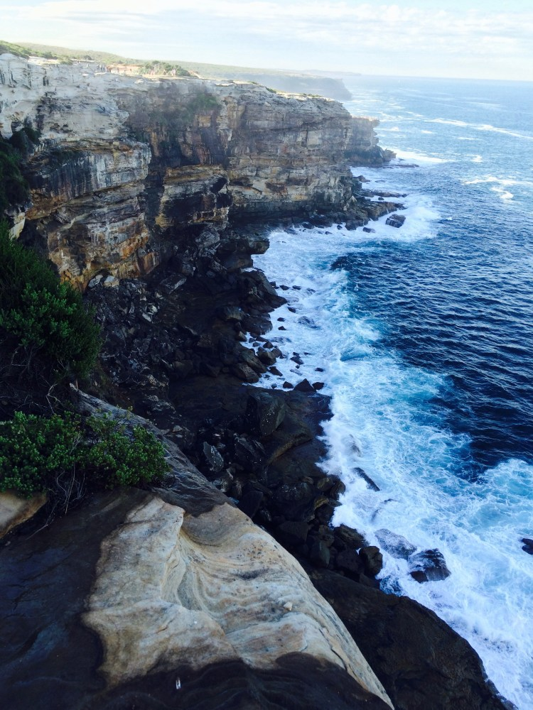 Cliff at Royal National Park
