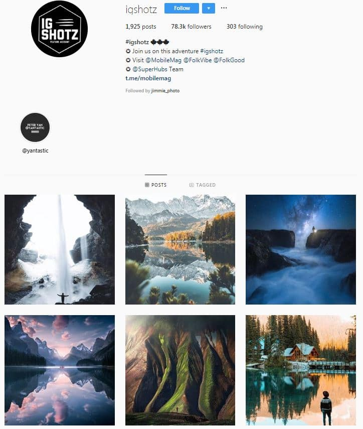 Instagram Accounts That Feature Travel photos-igshotz