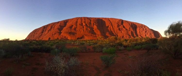 Uluru at sunrise tour