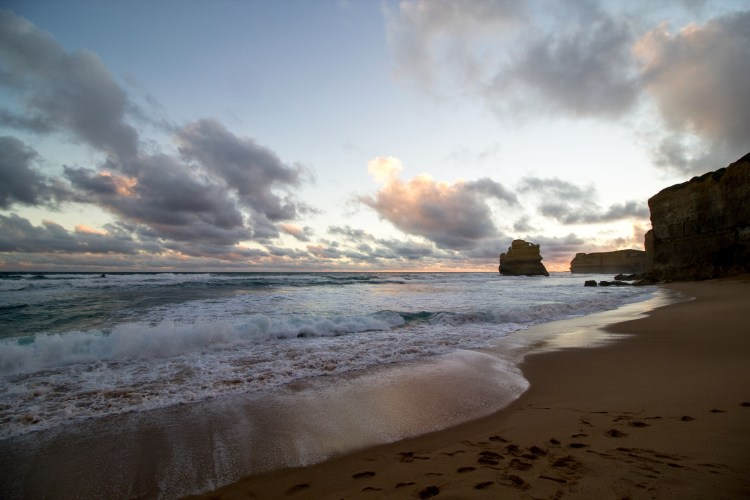 Great Ocean Road Sunset Gibson steps