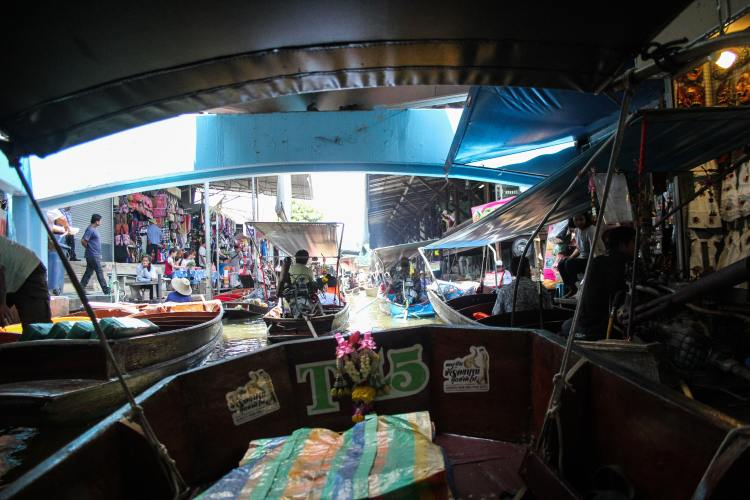 The Bangkok Floating Markets