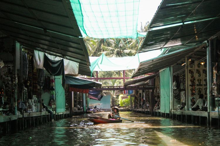 Bangkok Floating Markets stalls