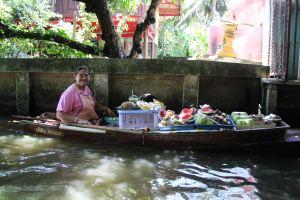 The Bangkok Floating Markets