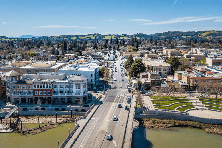 City of Napa Downtown