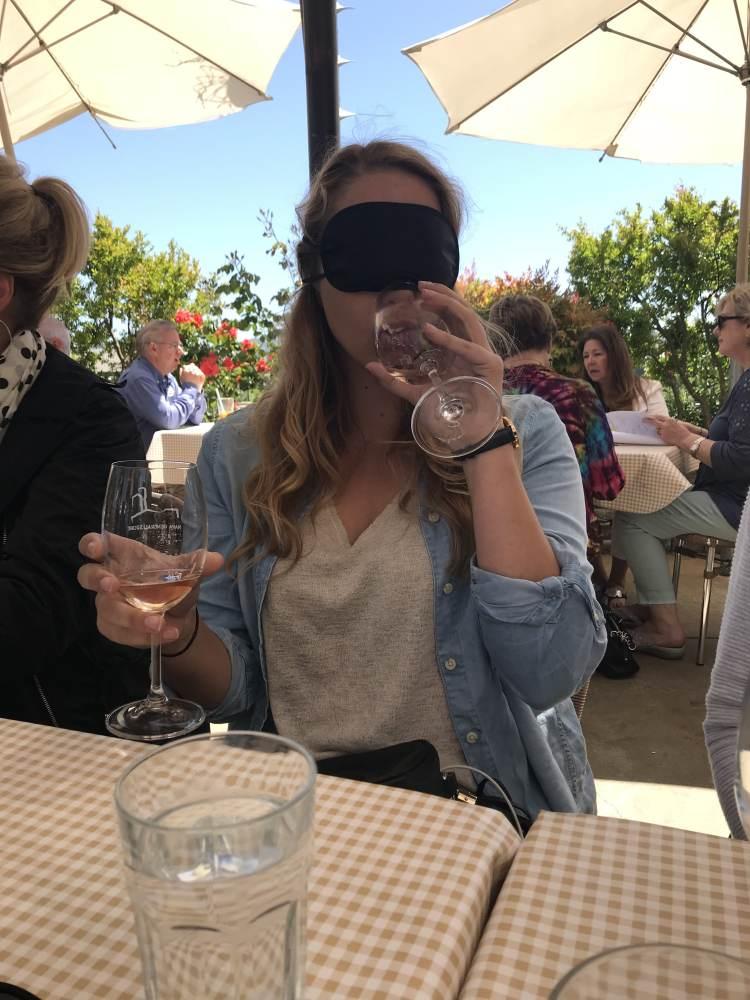 Blind wine tasting Napa General Store