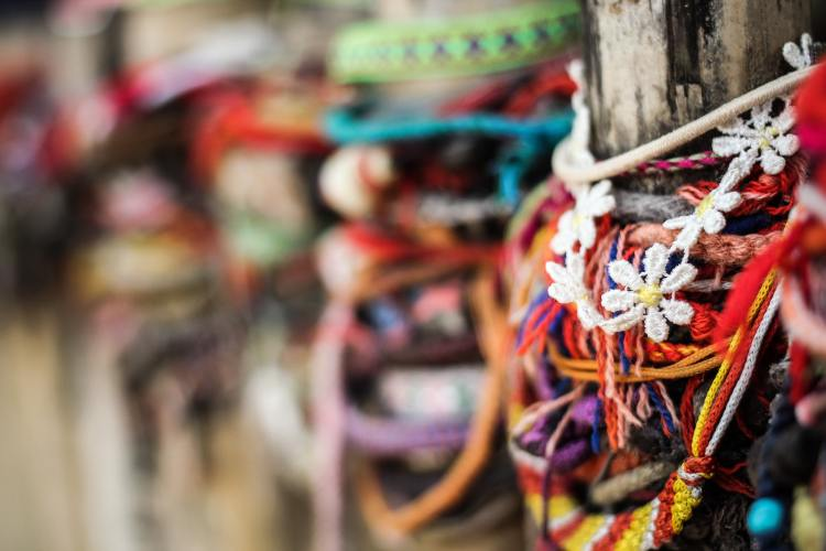 Cambodian Killing Field - Choeug Ek and S21 memorial bracelets
