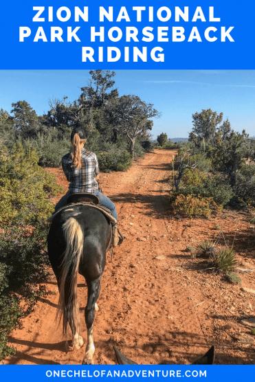 Zion Canyon Horseback Riding at Zion Mountain Ranch