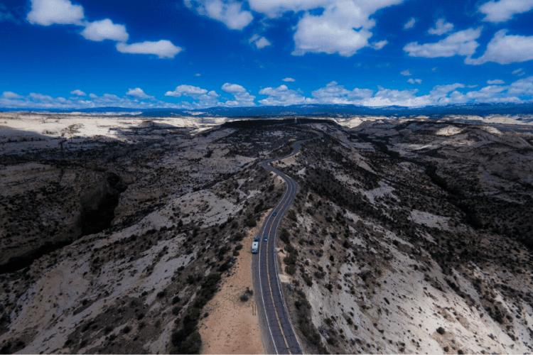 Hogback on Utah Byway 12