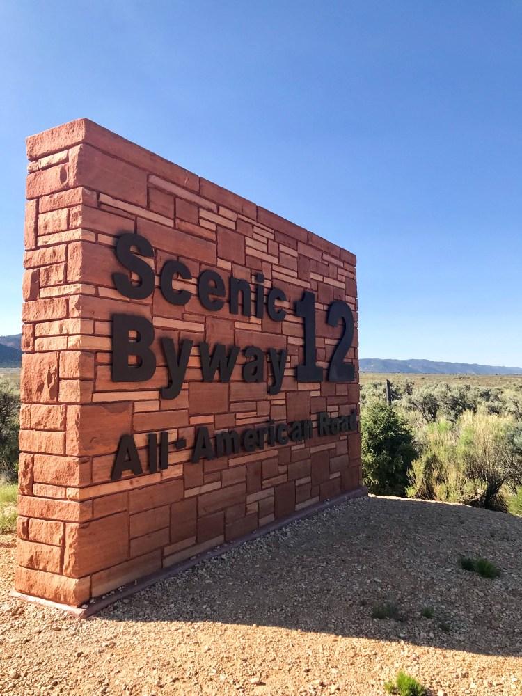 Driving Utah's Scenic Byway 12
