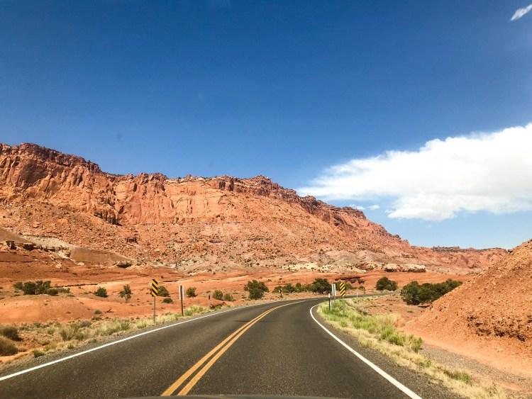 byway 12 in Utah road trip