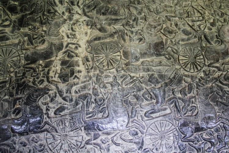 angkor wat decorative carvings