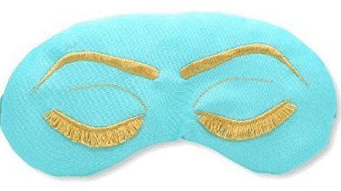gift guide for women Breakfast at Tiffany's Inspired Sleep Eye Mask