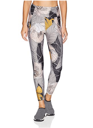 gifts for fitness women Maaji Women's Dazeful Printed High Rise 7/8th Legging