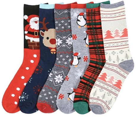 gifts for women Christmas Holiday Socks
