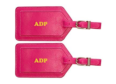 Gift for the Travel Lover: Personalized Luggage Tags
