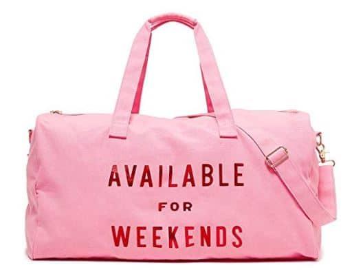 womens gift guide ban.do Women's Getaway Duffle Bag