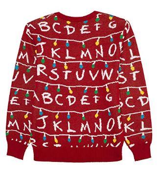 Stranger Things Light-Up Sweater
