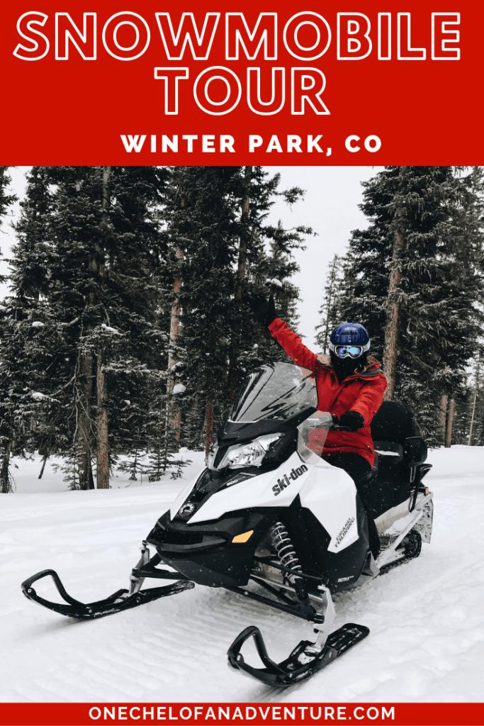 Snowmobiling Tour in Winter Park, CO